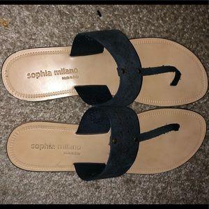 Sophia Milano flip flops